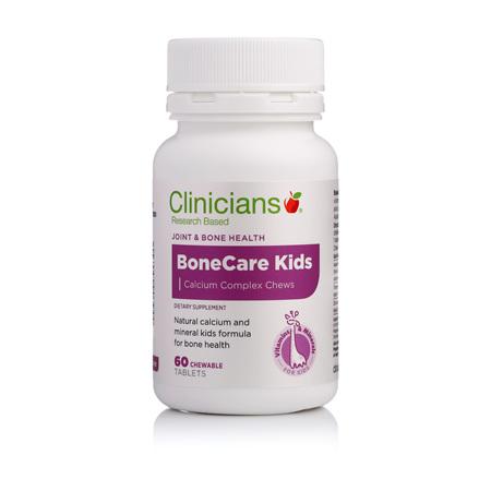 CLINICIANS BONECARE KIDS CALCIUM CHEW TAB 60