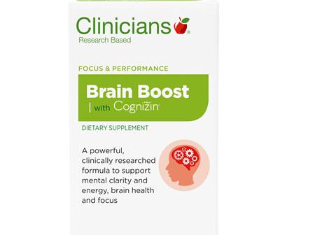 CLINICIANS BRAIN BOOST WITH COGNIZIN CAPS 30