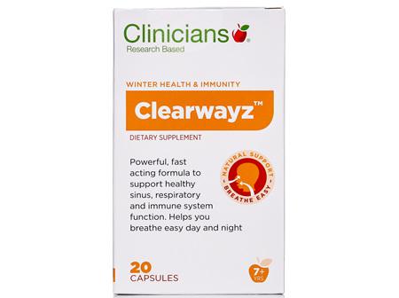 CLINICIANS CLEARWAYZ CAPS 20