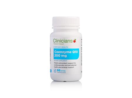 CLINICIANS COQ10 200 mg  CAPS 60
