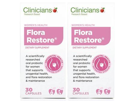 Clinicians Flora Restore 2 x 30 capsules