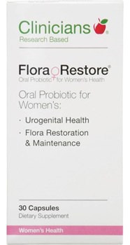 Clinicians Flora Restore  30 Capsules