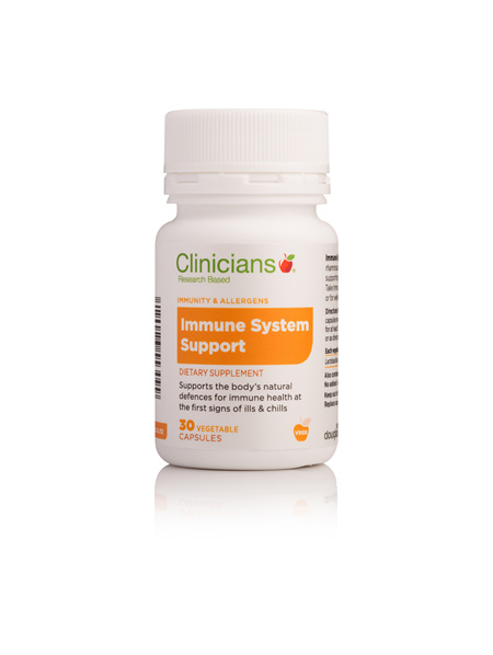 CLINICIANS IMMUNE SYSTEM SUPPORT  V CAPS 30 (Del-Immune)