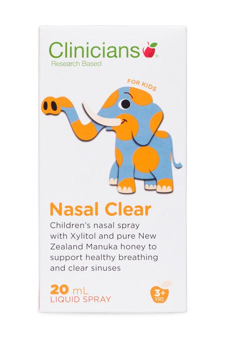 CLINICIANS KIDS NASAL CLEAR MANUKA SPRAY 20ML