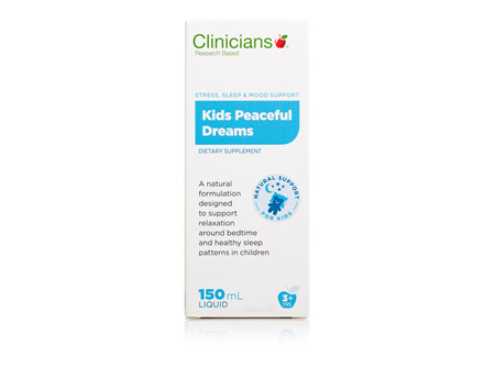 CLINICIANS KIDS PEACEFUL DREAMS 150 mL