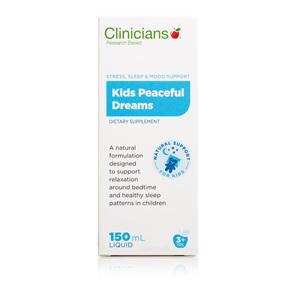 CLINICIANS KIDS PEACEFUL DREAMS 150 mL