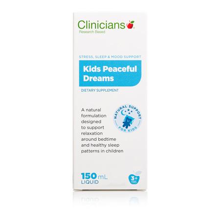 CLINICIANS Kids Peaceful Dreams 150ml