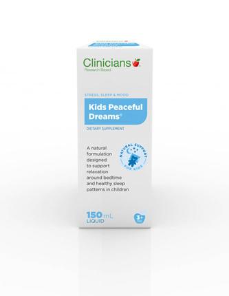 Clinicians Kids Peaceful Dreams (150ml Liq)