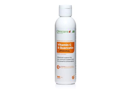Clinicians Liposomal Vitamin C & Quercetin 180mL