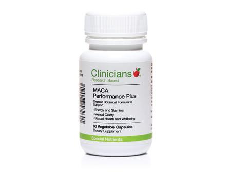 CLINICIANS MACA PERFORMANCE PLUS CAPS 60