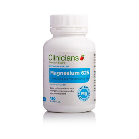 CLINICIANS MAGNESIUM CAPS 180