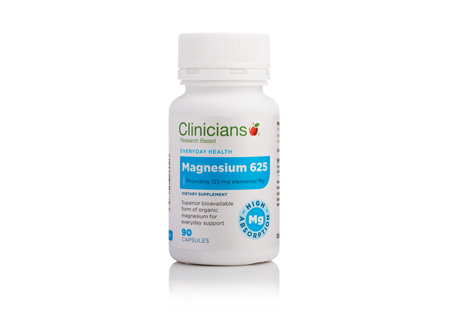 CLINICIANS MAGNESIUM CAPS 90