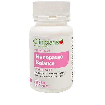 CLINICIANS Menopause Balance 30tabs