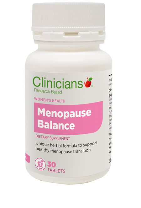 CLINICIANS MENOPAUSE BALANCE TAB 30