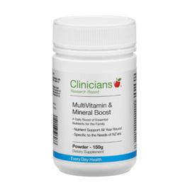 Clinicians MultiVitamin & Mineral Boost ( 150g powder)