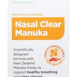 Clinicians Nasal Clear Manuka