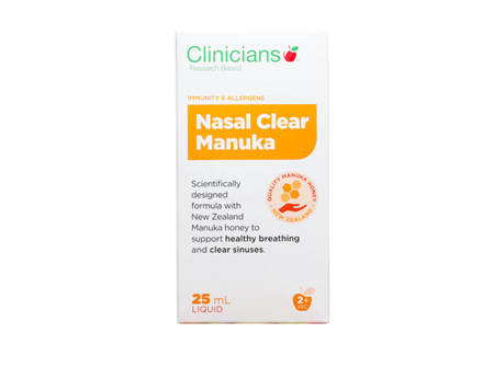 Clinicians Nasal Clear Manuka Nasal Spray 25 ml