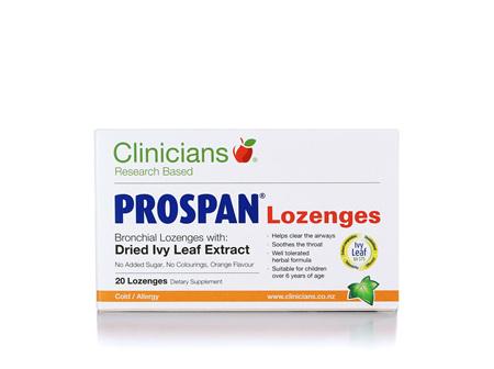 Clinicians Prospan 20 Lozenges