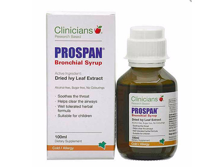 Clinicians Prospan Bronchial Syrup 100 ml