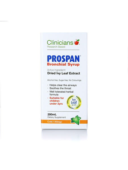 CLINICIANS PROSPAN BRONCHIAL SYRUP 200 mL