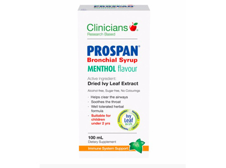 Clinicians Prospan Bronchial Syrup Menthol 100ml
