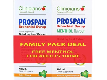Clinicians Prospan Family Pack Deal