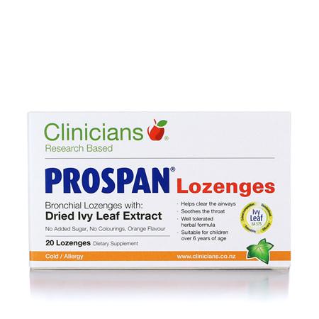 CLINICIANS Prospan Lozenges 20pk