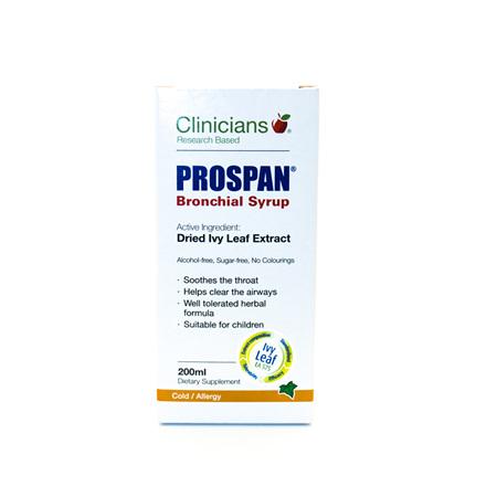 Clinicians Prospan Syrup