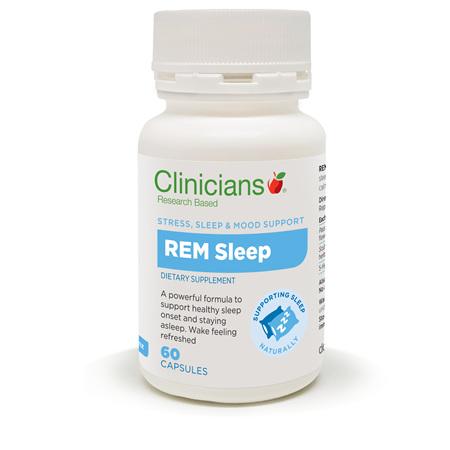 CLINICIANS REM Sleep 60caps
