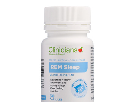 CLINICIANS REM SLEEP CAPS 30