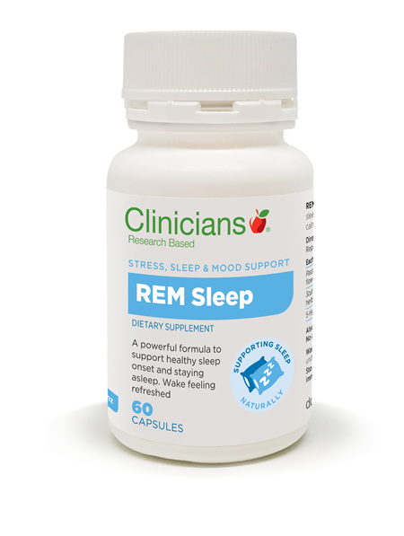 CLINICIANS REM SLEEP CAPS 60