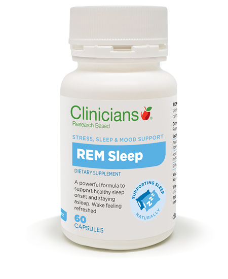 CLINICIANS REM SLEEP CAPS 60