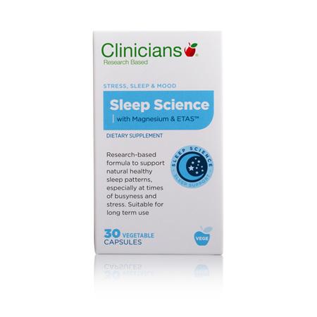CLINICIANS Sleep Science 30caps