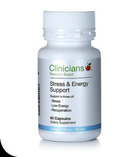 Clinicians Stress and Energy Support 180 capsules