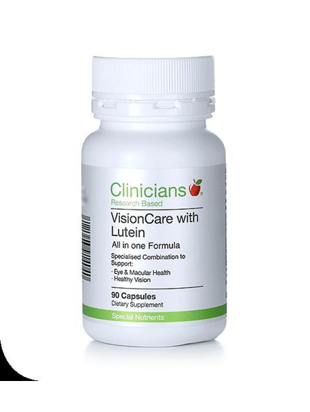 Clinicians  VisionCare with Lutein - 60 capsules