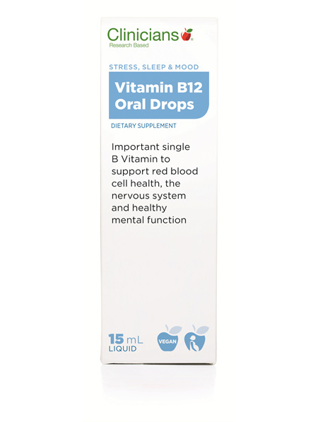 CLINICIANS VITAMIN B12 ORAL SLN 15 mL