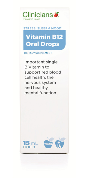 CLINICIANS VITAMIN B12 ORAL SLN 15 mL