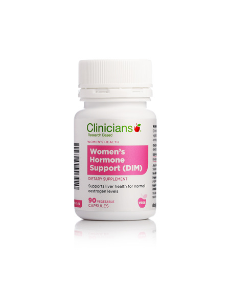 CLINICIANS WOMENS HORMONE SUPP (DIM) CAPS 90
