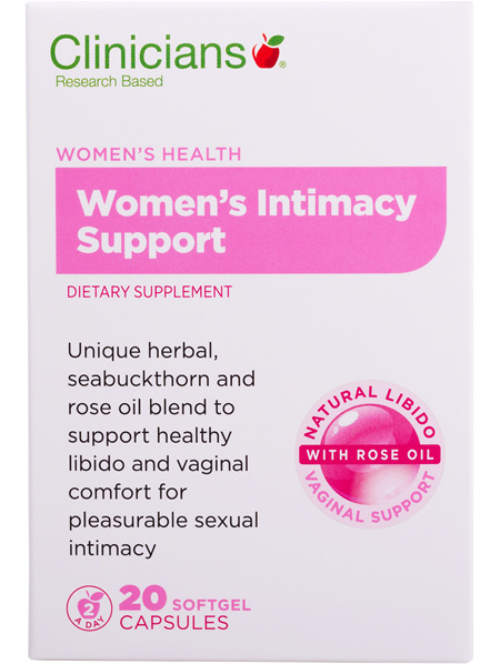 Clinicians Womens Intimacy Support Caps 20