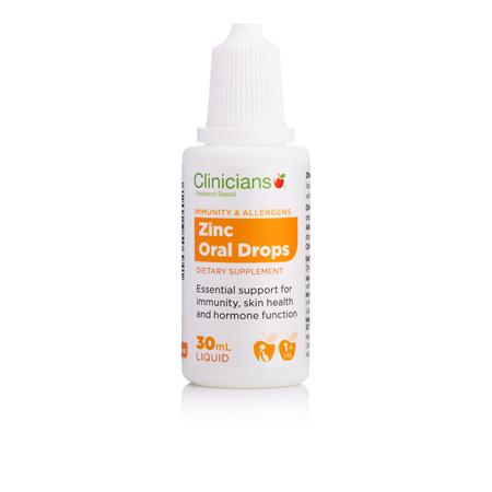CLINICIANS Zinc Oral drops 1mg 30ml