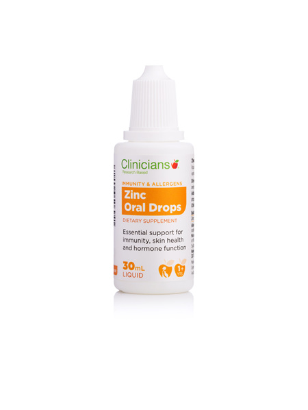 CLINICIANS ZINC ORAL SLN 30 mL