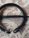 Clock Pin 1 - Hand Forged Round Iron Cloak Pin (5 cm)