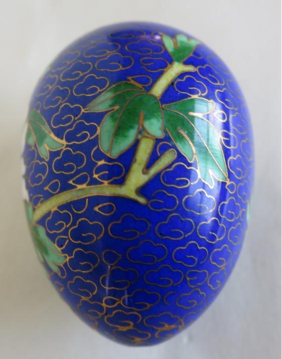 Cloisonne egg