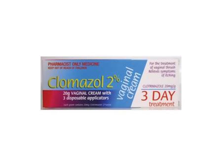 CLOMAZOL 2% Vag.Cr 20gtube +3 appl.