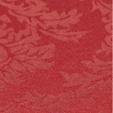 Cloth Damask Round Red 330cm