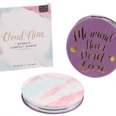 Cloud 9 Mermaid Compact Mirror