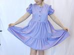 Cloud Dress in Lilac