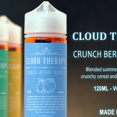 Cloud Therapy - Crunch Berry - 120ml - e-Liquid