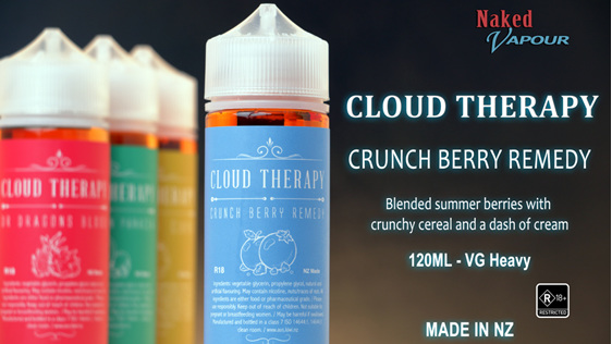 Cloud Therapy - Crunch Berry Remedy @ Naked Vapour