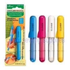 Clover Chaco Liner Pen Yellow 4713